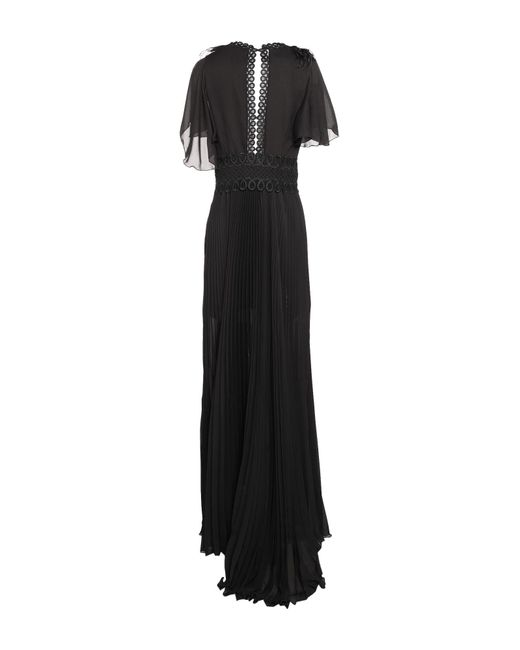 Vestido largo W Les Femmes By Babylon de color Black