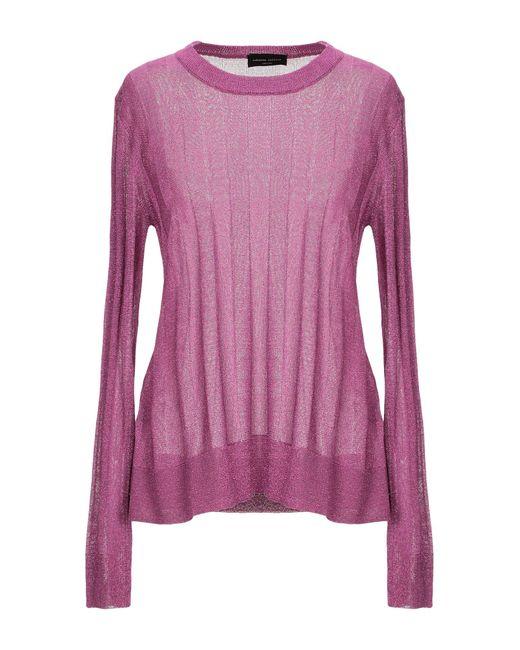 Pullover di Roberto Collina in Purple