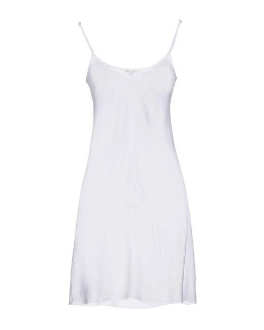 P.A.R.O.S.H. White Short Dress