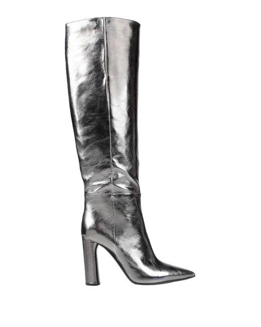 Casadei Gray Boots