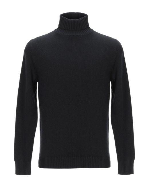 Col roulé Drumohr pour homme en coloris Black