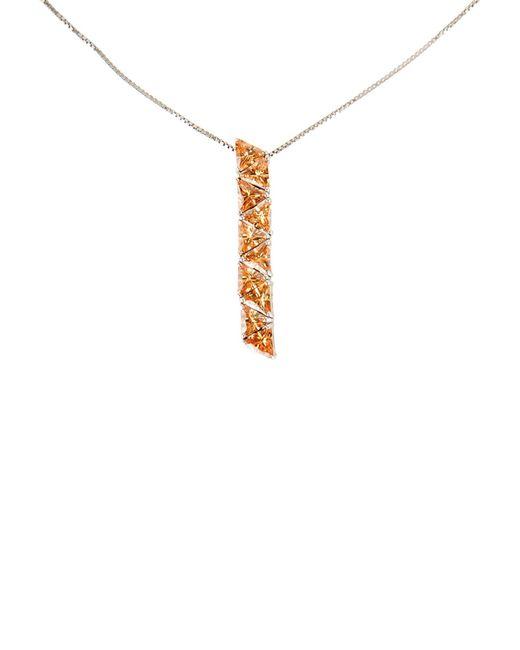 Blumarine - Orange Necklace - Lyst