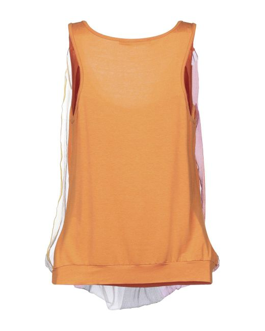 Pianurastudio Orange T-shirts