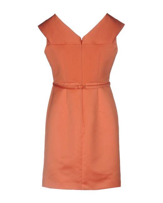 Vestito corto di Paule Ka in Orange