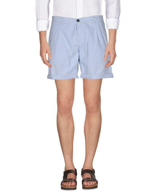 Antony Morato Blue Shorts for men