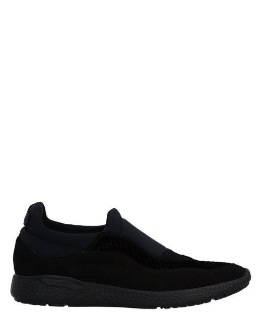 Cesare Paciotti Black Low-tops & Sneakers