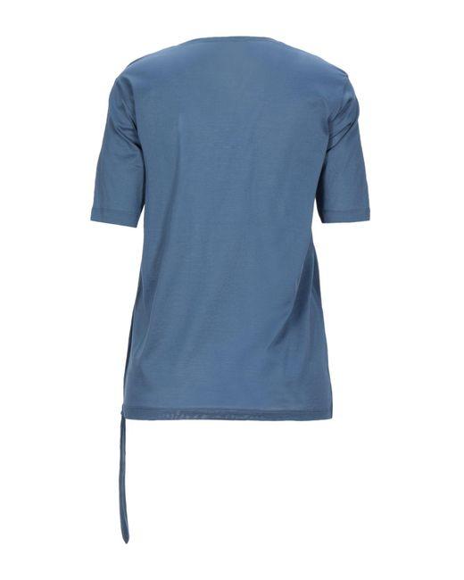 Fabiana Filippi Camiseta de mujer de color azul 1dX2J