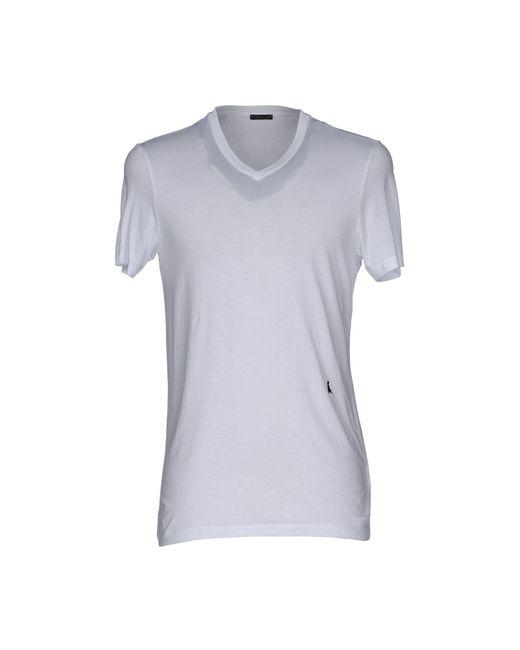 Patrizia Pepe | White T-shirt for Men | Lyst