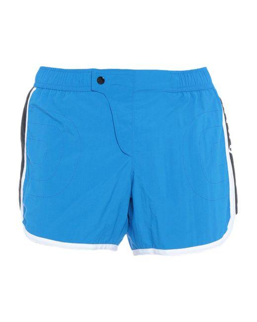 Short de bain Moschino pour homme en coloris Blue