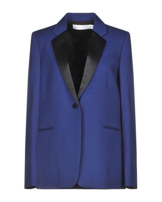 Victoria Beckham Blue Suit Jacket