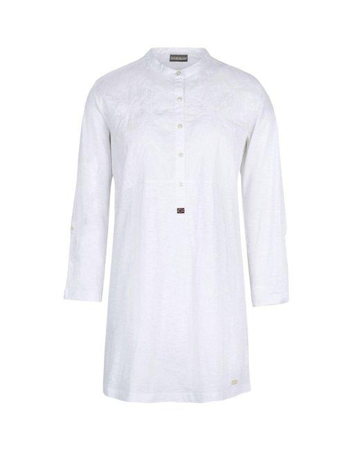 Napapijri - White T-shirts - Lyst