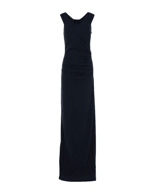 Patrizia Pepe Black Langes Kleid