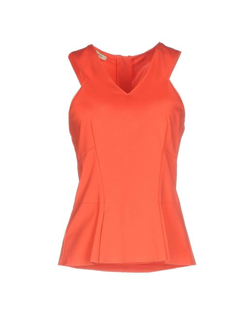 Pinko - Red Top - Lyst