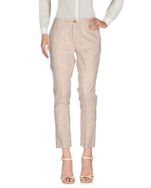 TRUE NYC - Natural Casual Pants - Lyst