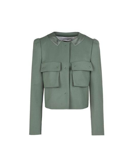 Emporio Armani - Green Jacket - Lyst
