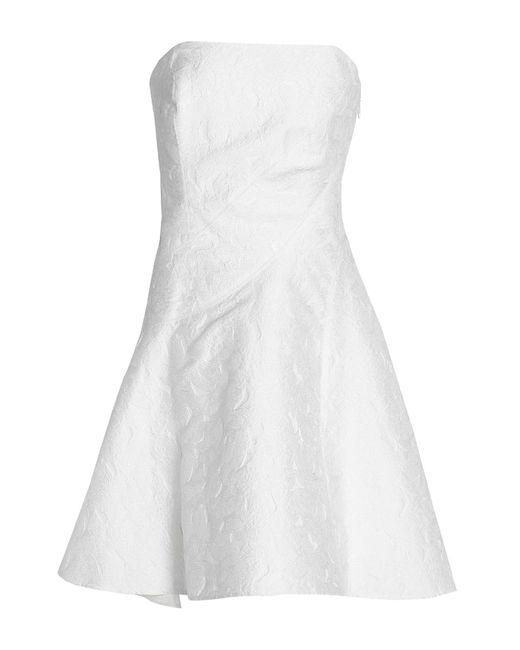 Halston Heritage White Short Dress