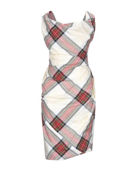 Vivienne Westwood White Knee-length Dress
