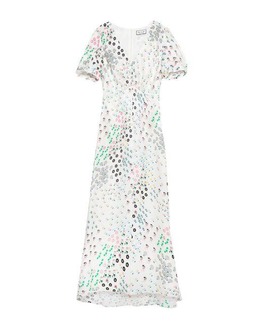Paul & Joe White Langes Kleid