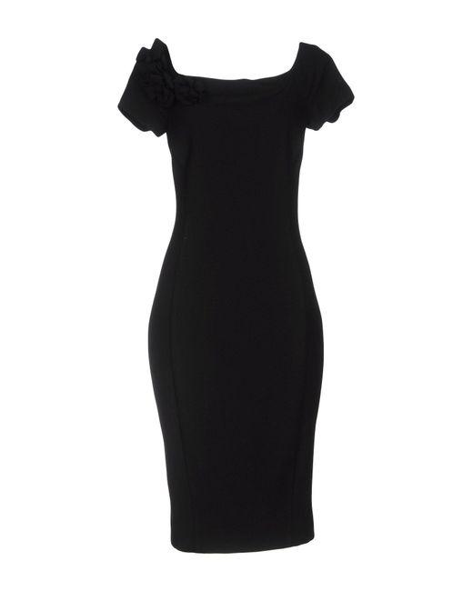 Twin Set - Black Knee-length Dress - Lyst