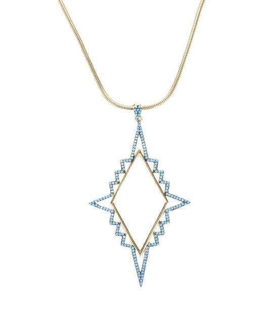 Noir Jewelry - Metallic Necklaces - Lyst