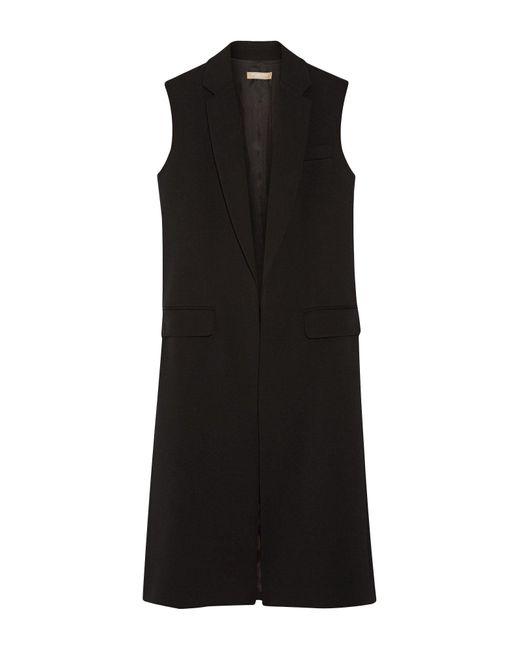 Michael Kors Black Overcoat