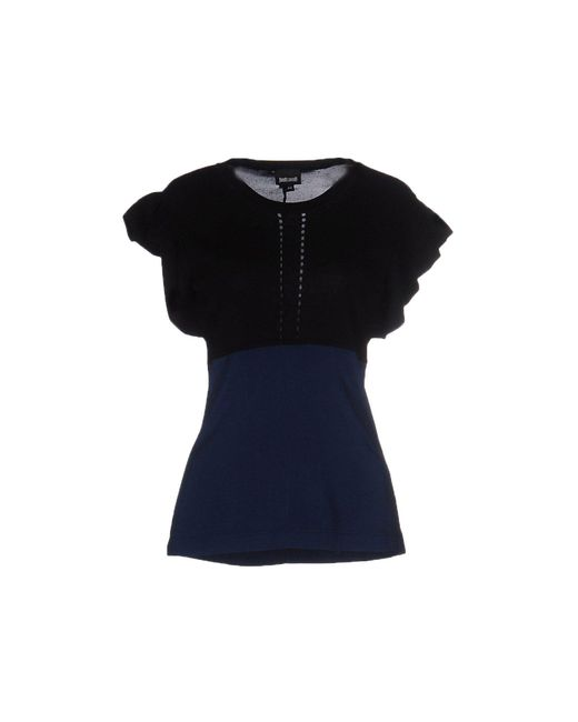 Just Cavalli - Blue Sweater - Lyst
