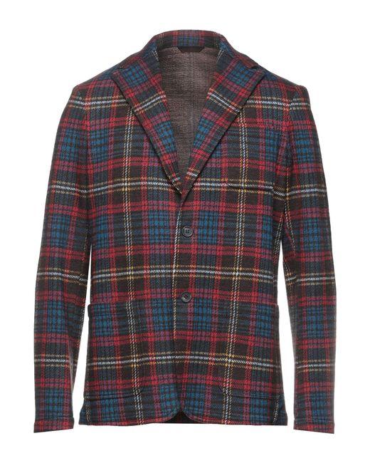 Altea Red Suit Jacket for men