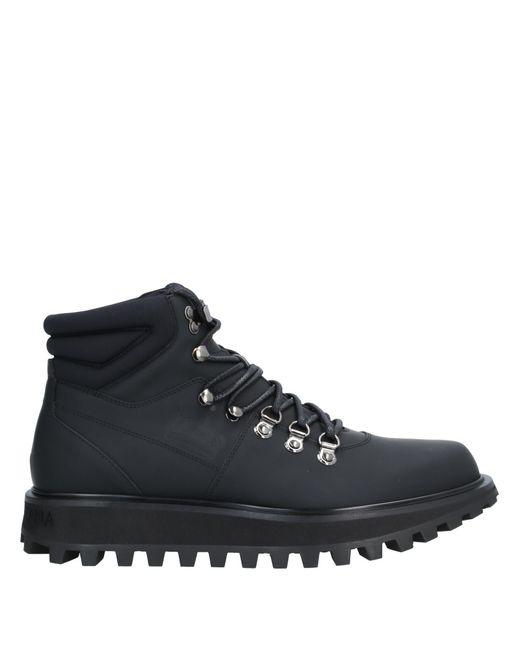 Dolce & Gabbana Stiefelette in Black für Herren