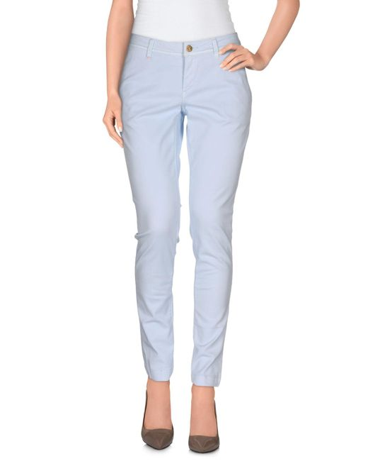 Re-hash - Blue Casual Trouser - Lyst