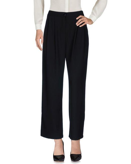 Berna Black Casual Pants