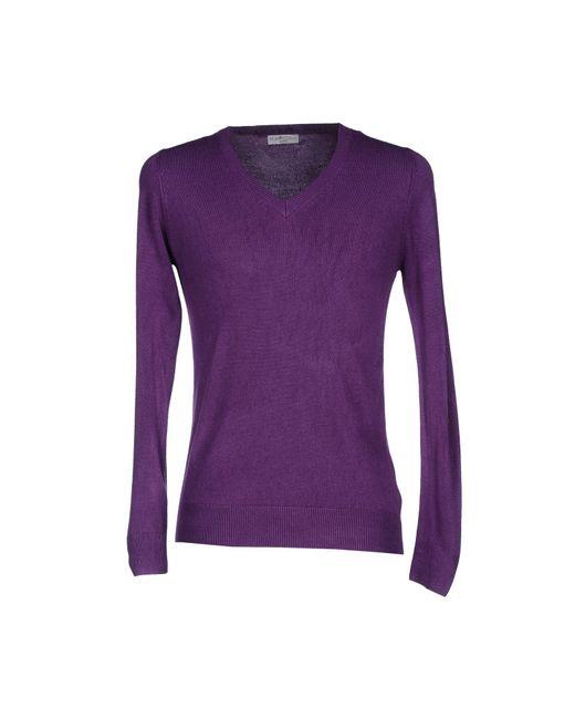 Romeo Gigli - Purple Sweater for Men - Lyst