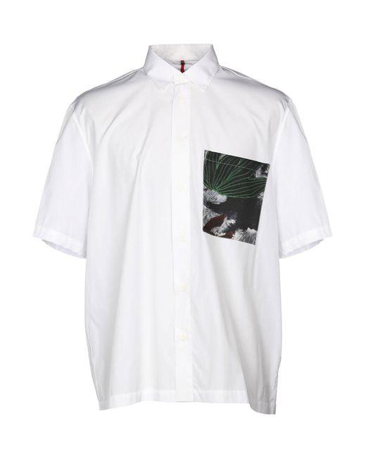 OAMC - White Shirt for Men - Lyst