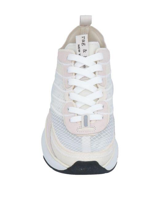 Rag & Bone White Low Sneakers & Tennisschuhe