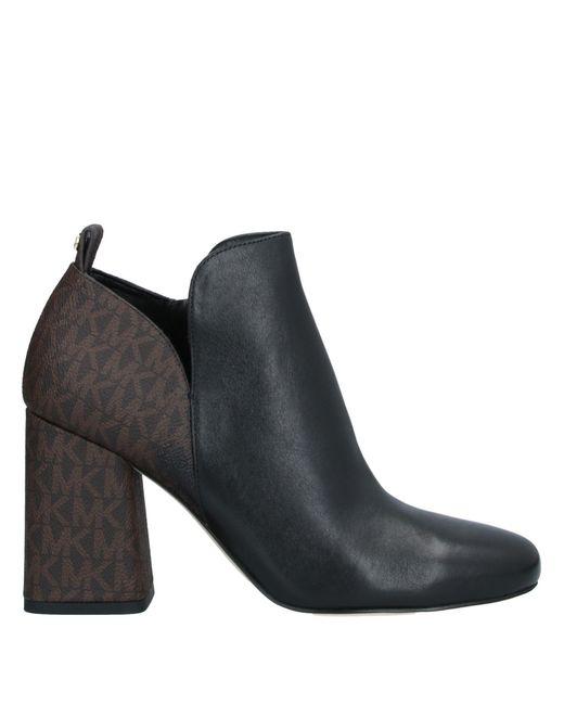 MICHAEL Michael Kors Black Shoe Boots