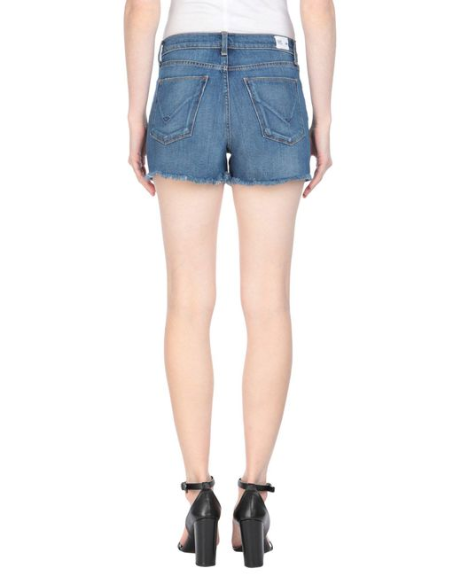 Short en jean Hudson en coloris Blue