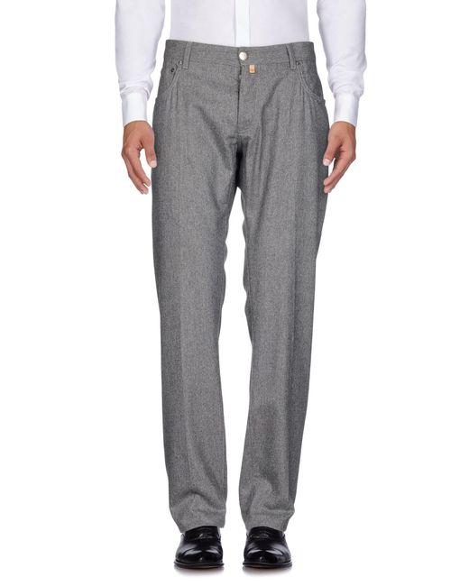 Corneliani - Gray Casual Pants for Men - Lyst