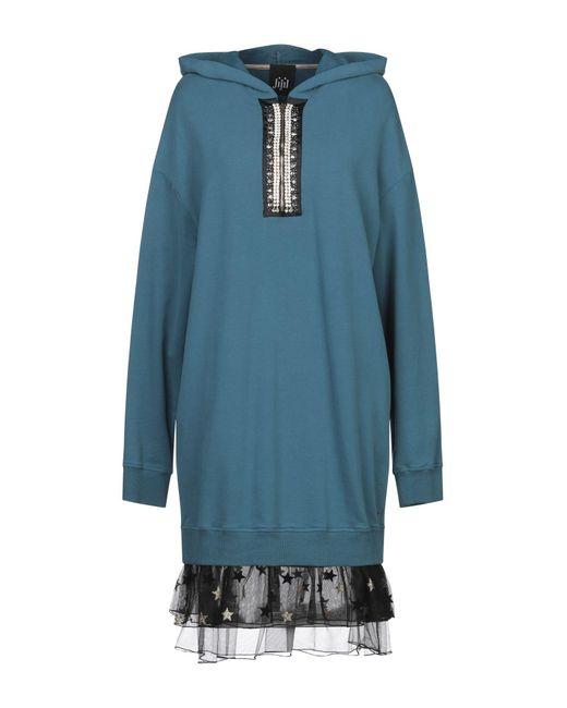 Robe aux genoux Jijil en coloris Blue