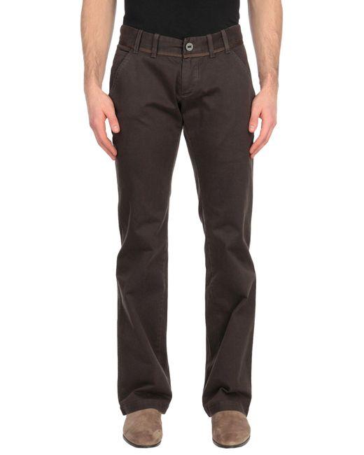Pantalone di Alessandro Dell'acqua in Brown da Uomo