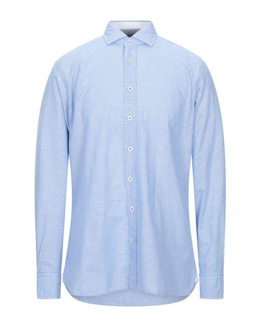 Hackett Blue Shirt for men