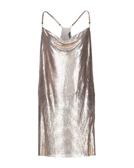 Marciano Metallic Short Dress