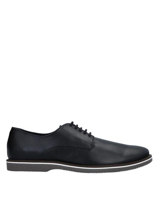 Zapatos de cordones Hogan de hombre de color Black