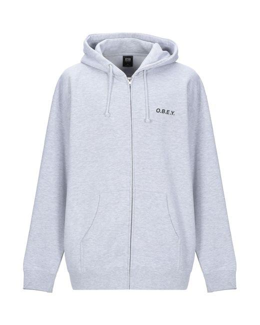 Obey Gray Sweatshirt for men