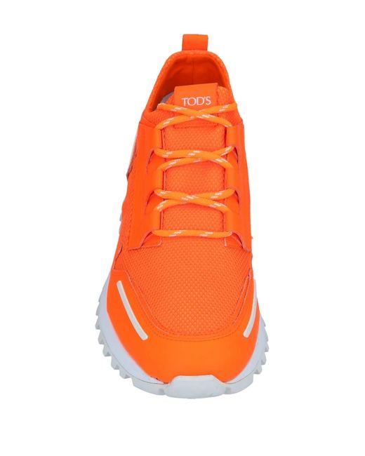 Sneakers & Tennis basses Tod's pour homme en coloris Orange
