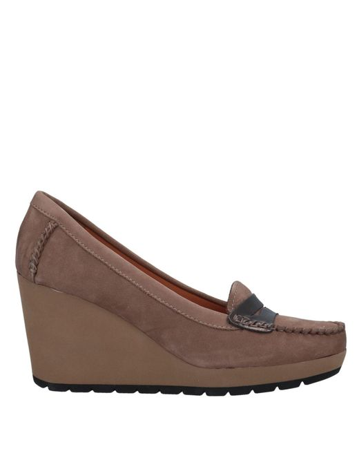 Geox - Brown Loafer - Lyst