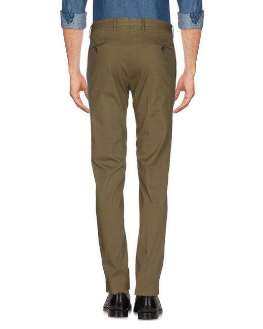 PT01 Pantalon homme de coloris vert
