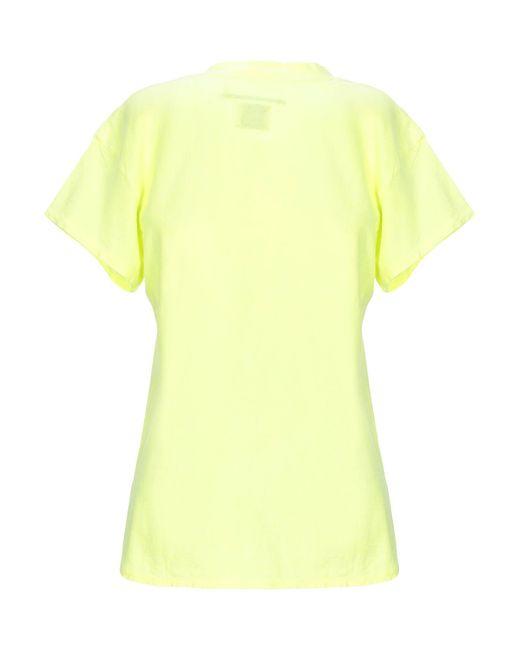 T-shirt di ..,merci in Yellow
