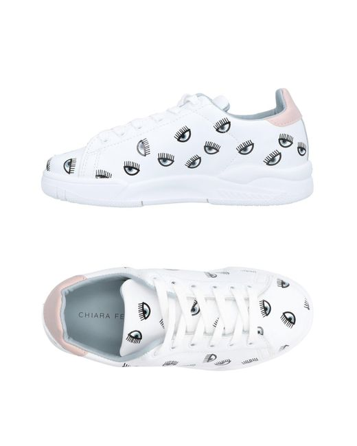 Chiara Ferragni White Low-tops & Sneakers