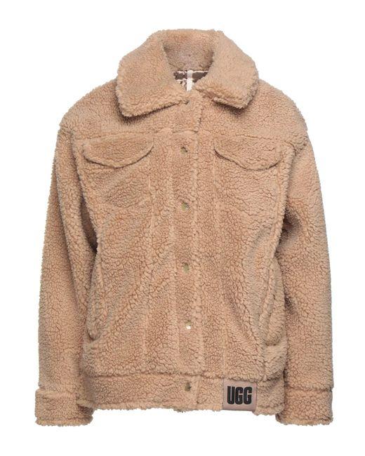 Teddy coat di Ugg in Natural