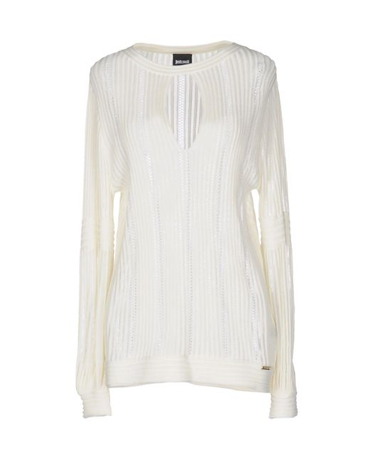 Just Cavalli White Sweater