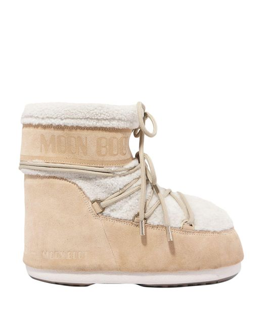 Moon Boot Natural Ankle Boots